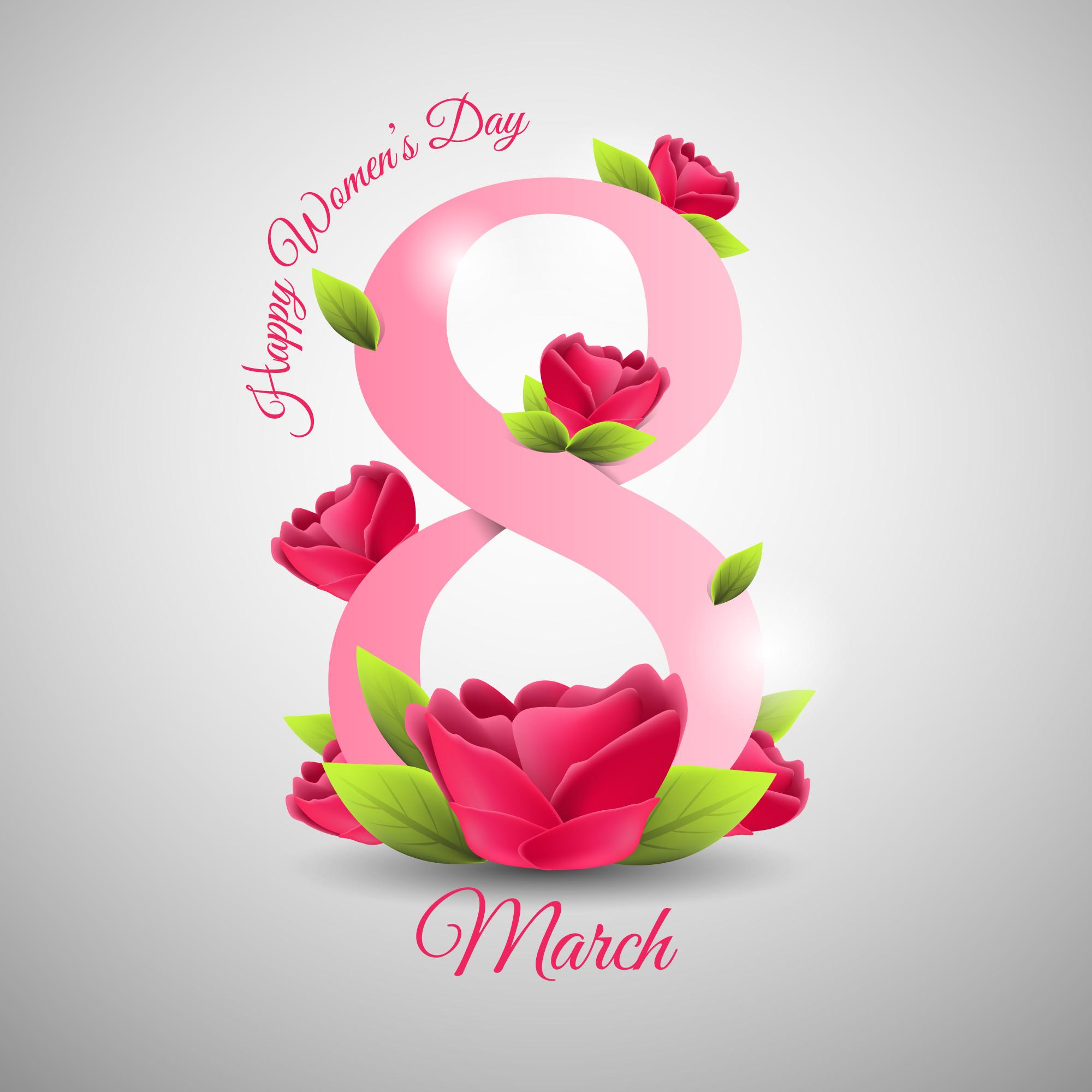 Поздравляем с 8 Марта! Производственная рекламная компания РПК Грани